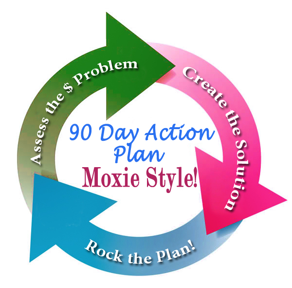 90 day action plan arrow logo